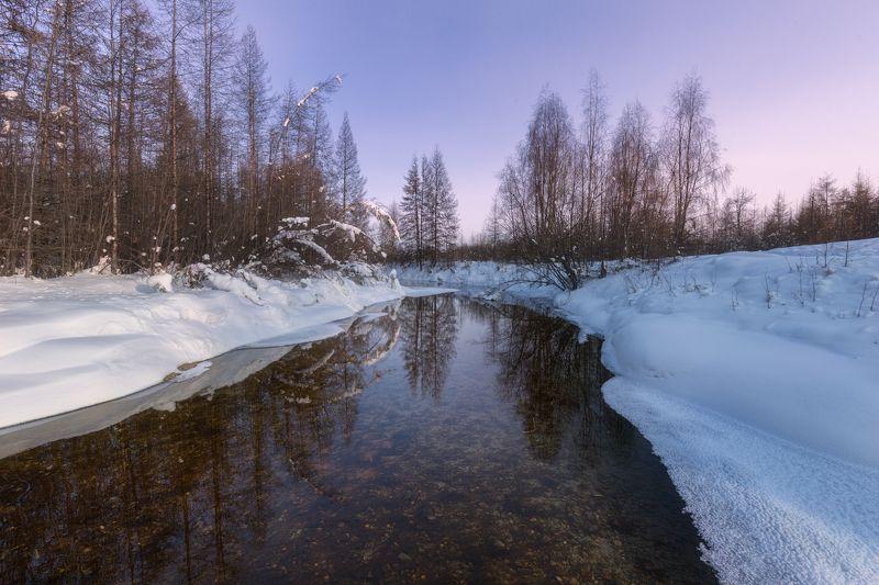 Ручей Полюса холодаphoto preview