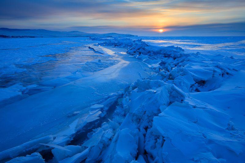 Закат на Байкалеphoto preview