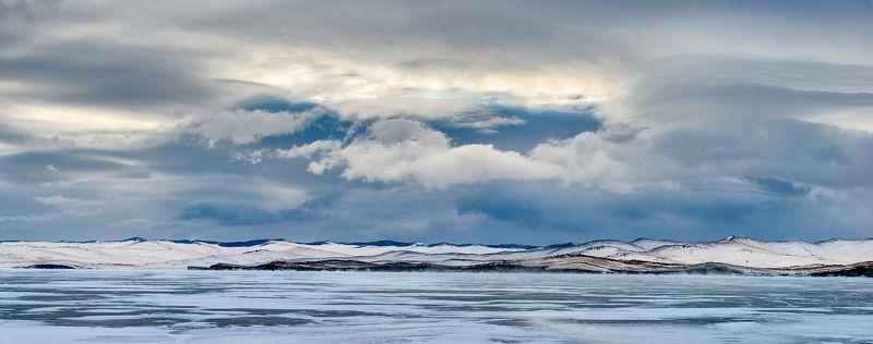 Байкал, зима, лёд, пейзаж Зимний Байкалphoto preview