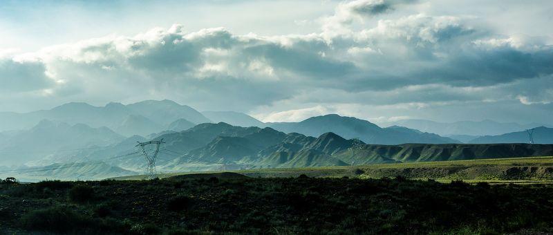 горы, закат, пейзаж, природа, вечер Горы №271photo preview