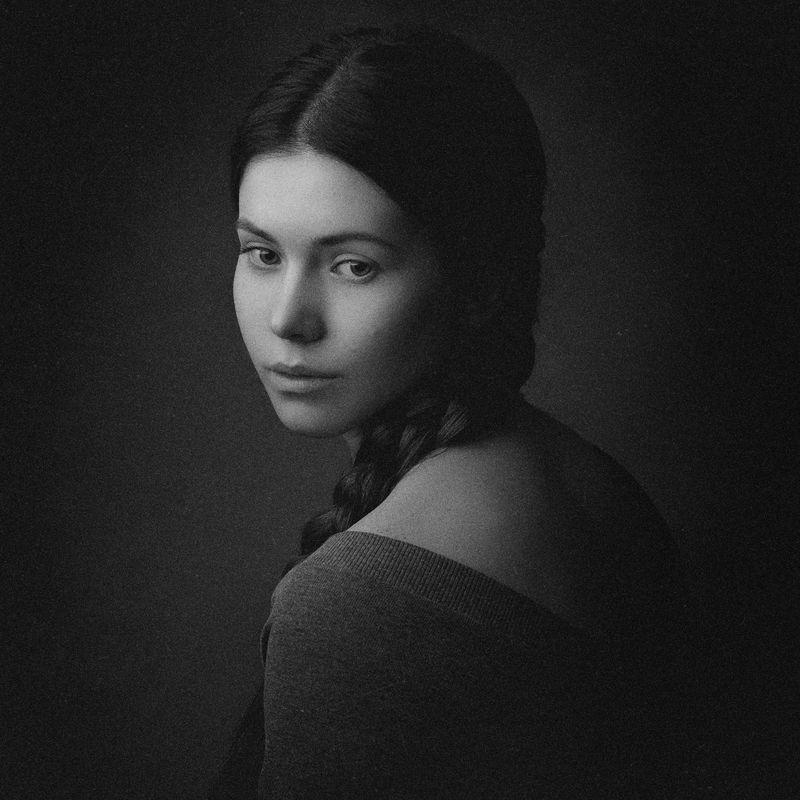 портрет, девушка, картина Заринаphoto preview