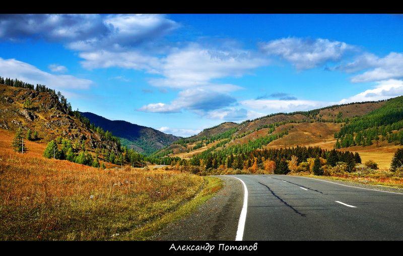 горы, лето, Горный Алтай, Чуйский тракт  По Чуйскому тракту. photo preview