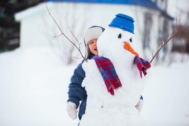 зима Кузя, снежная играphoto preview