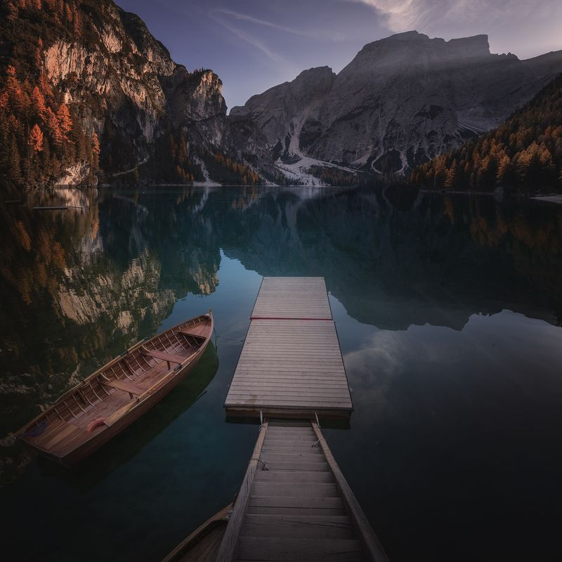 lake, Italy,  autumn СПОКОЙСТВИЕphoto preview