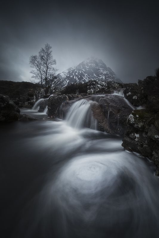 scotland, waterfall, landscape, nature, mountains Scotlandphoto preview