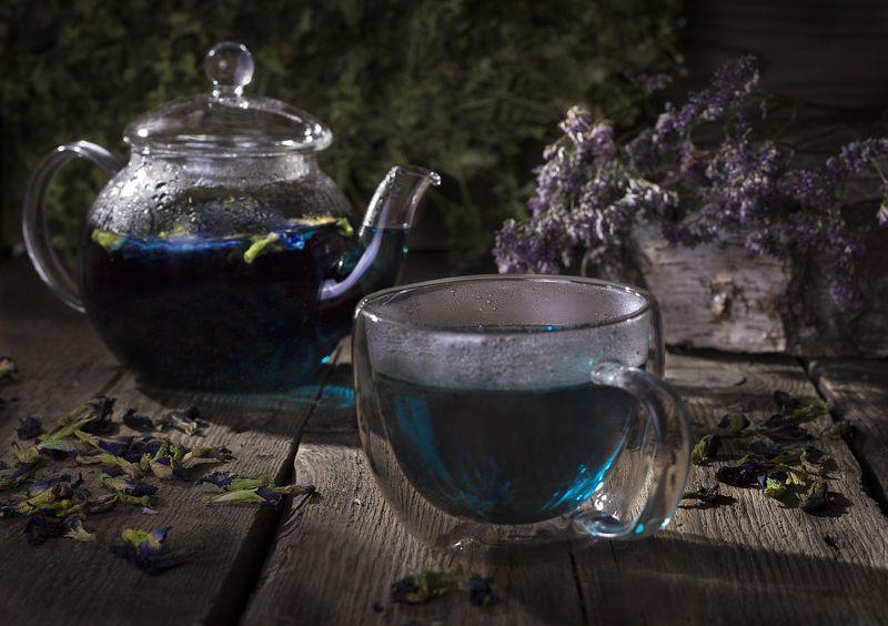 Синий чай...photo preview
