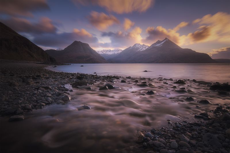 landscape, nature, scotland, travel, mountains, river Scotland, Elgolphoto preview