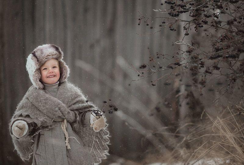 Мальчик зимойphoto preview