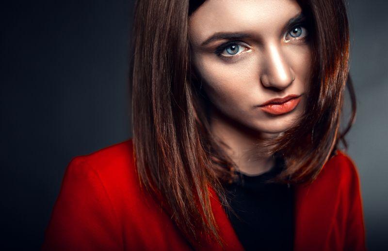 портрет, студия, свет студия, крыпный, лицо photo preview