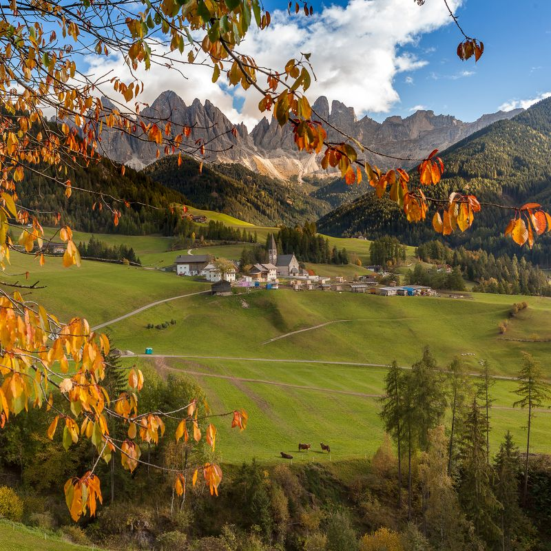 italy, sudtirol, dolomites, mountains, landscape, Val di Funesphoto preview