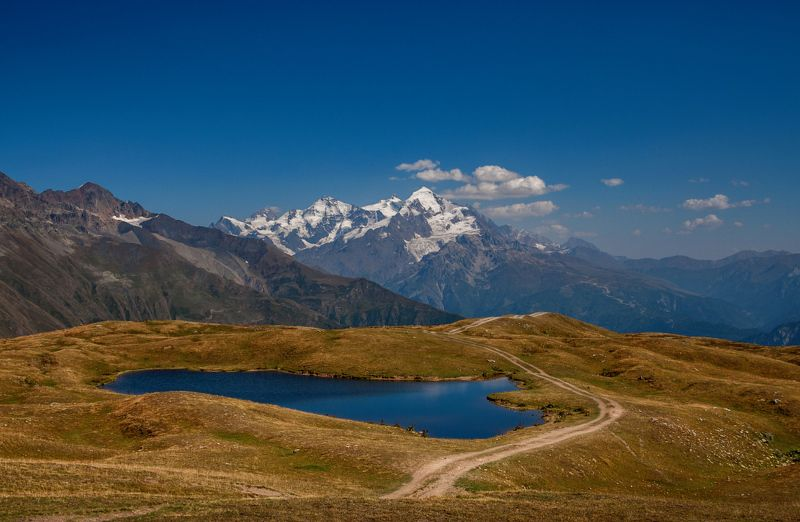 Дорога в горах.photo preview