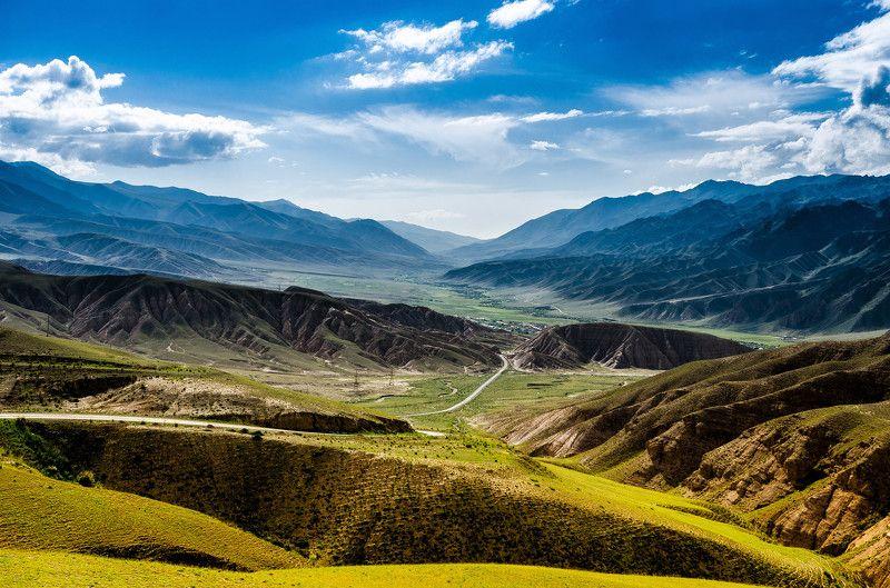 горы, природа, пейзаж, лето, перевал, зелень Перевалphoto preview