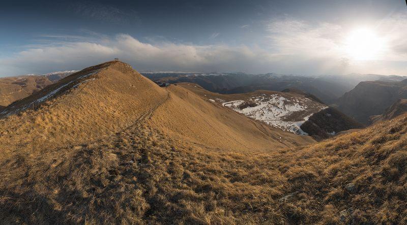 кавказ, весна, карачаево-черкесия, долина нарзанов Ранняя весна на предгорьях Кавказаphoto preview