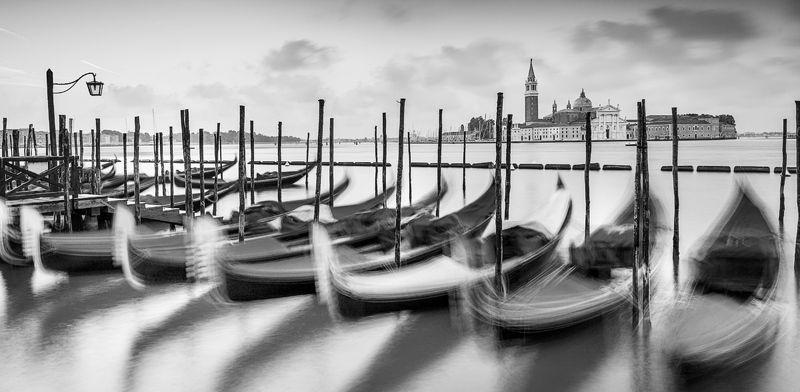 венеция, италия, черно-белое, морской пейзаж, venice, italy, seascape, black and white Венецияphoto preview