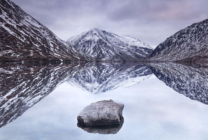 пейзаж, горы, ирландия, озеро, отражение, природа, ireland, landscape, lake, reflection, mountains Отражениеphoto preview