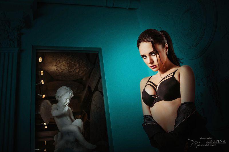 портрет, девушка, модель, взляд Nikaphoto preview