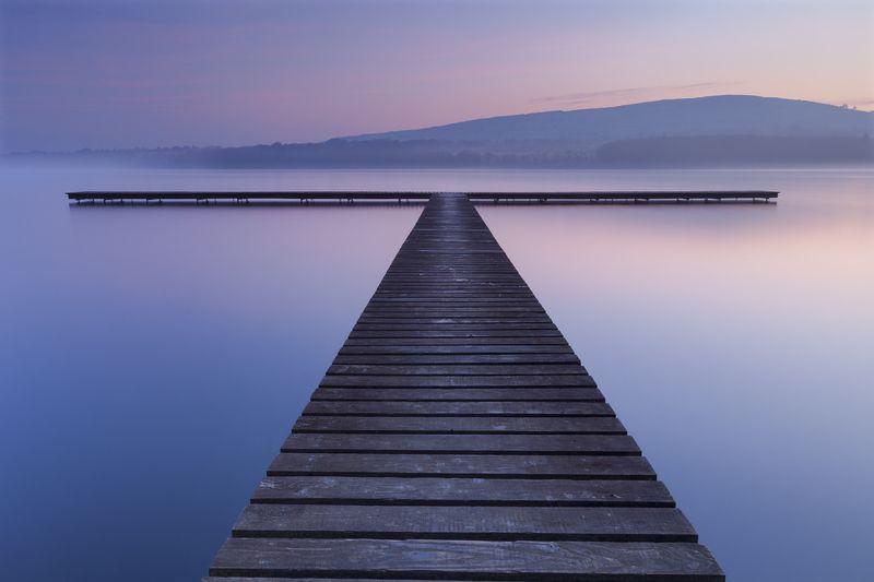 пейзаж, озеро, ирландия, природа, рассве, landscape, lake, ireland, nature, dawn, sunsrise Перед рассветомphoto preview