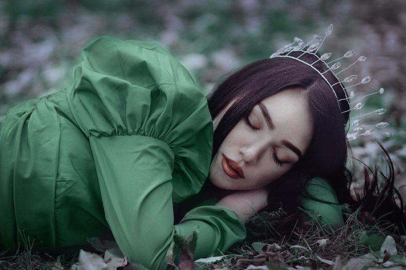 девушка, сказочные фотографии, портрет Briar Rosephoto preview
