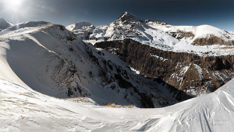 казбек, кавказ, грузия, горы, гора. зима, снег Казбек, Кавказphoto preview