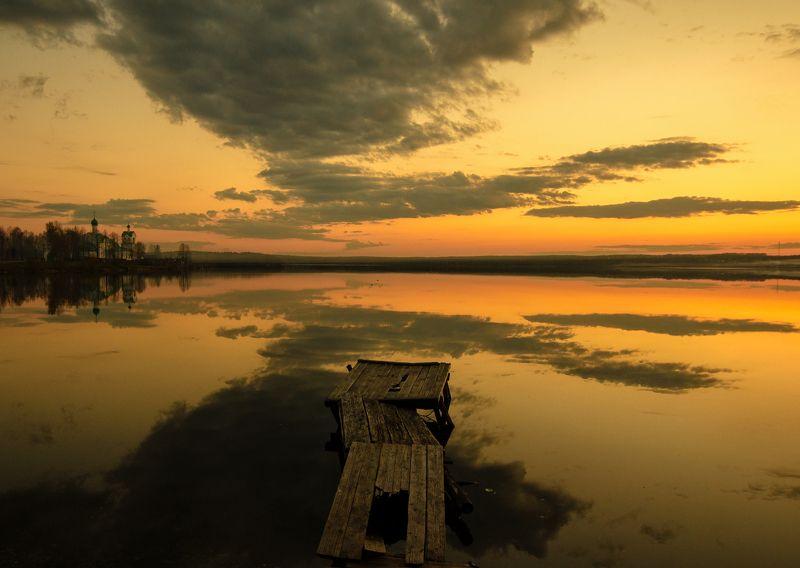 закат,природа,россия,небо Майский закатphoto preview