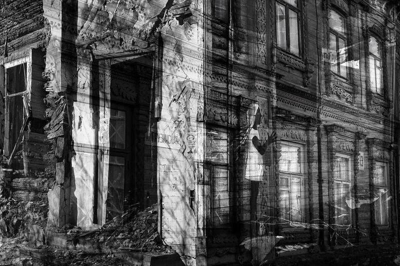 россия, нижний новгород, грузинская, дома, разруха ***photo preview