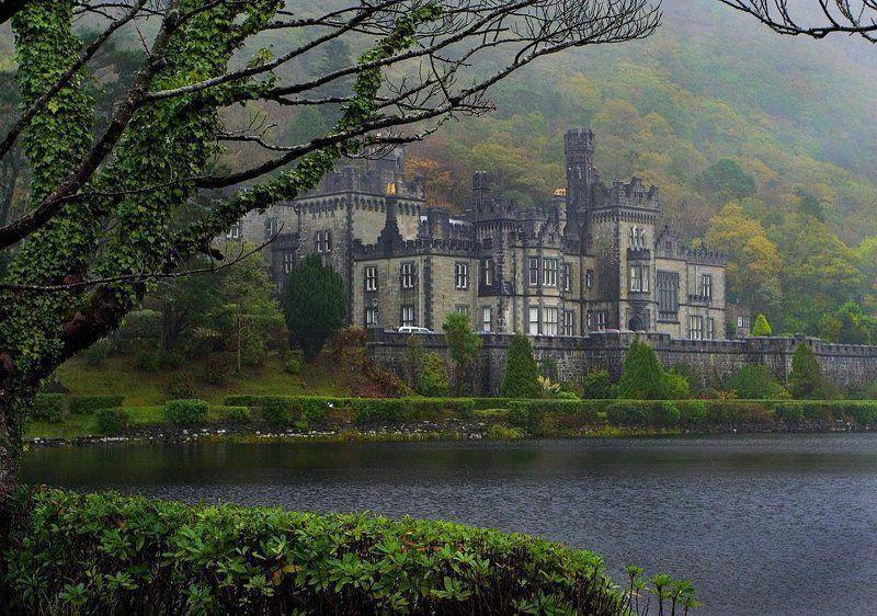 ирландия, аббатство, killemore Аббатство Killemore и дождьphoto preview