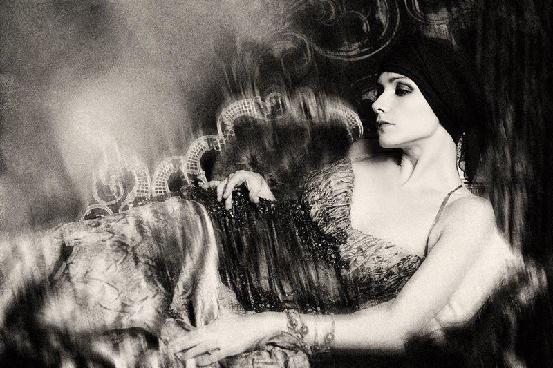 портрет, девушка, женщина Опиумные ночиphoto preview