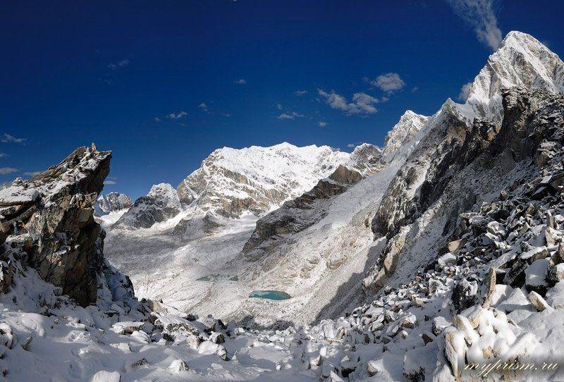 гималаи, непал, горы, пумори, pumori Гималаиphoto preview