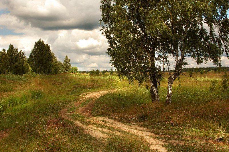 - По дороге с облаками.. -photo preview