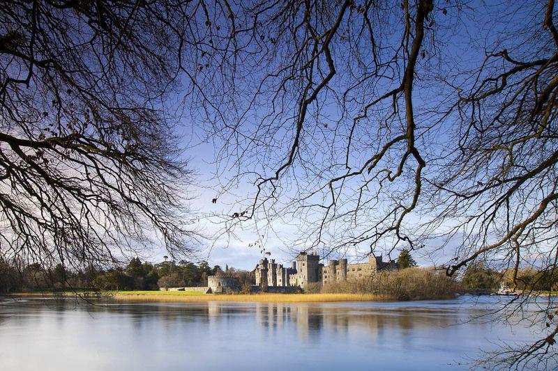 замок, пейзаж, природа, ирландия, озеро, ireland, lake, castle, landscape photo preview