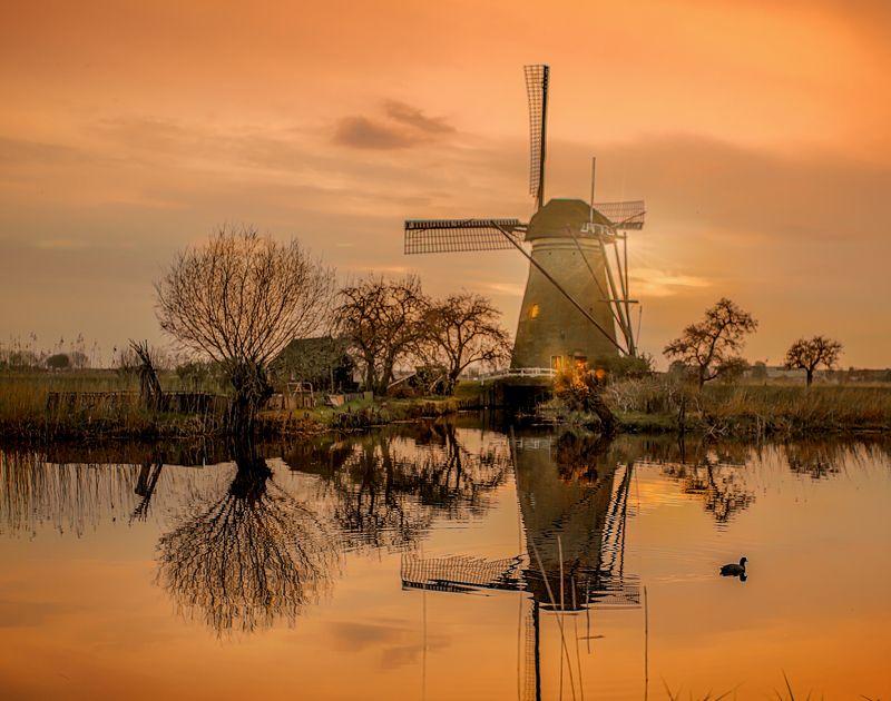 Holland Wildmühle * Голландия, ветряные мельницыphoto preview