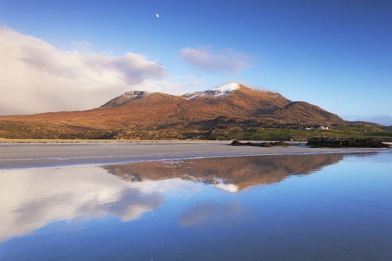 пейзаж, ирландия, отражение, горы, океан, ireland, reflection, landscape, seascape, mountains, ocean photo preview
