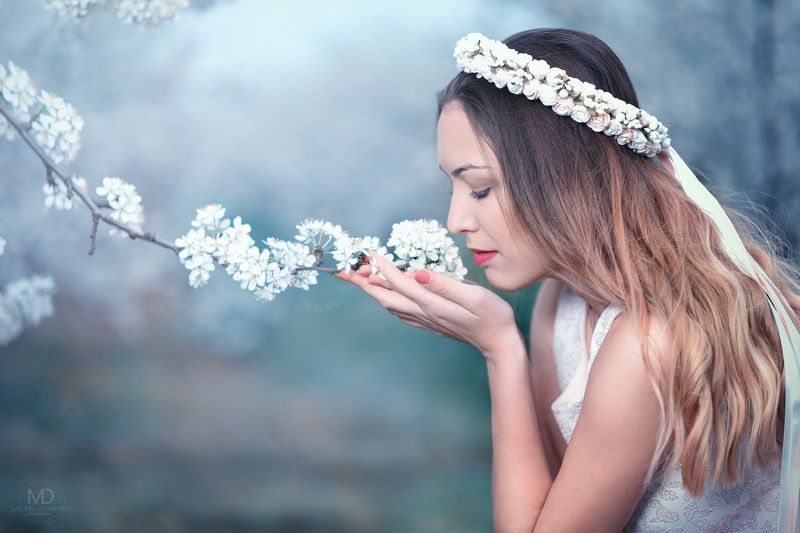 Portrait, spring, весна, blossom, beauty ***photo preview