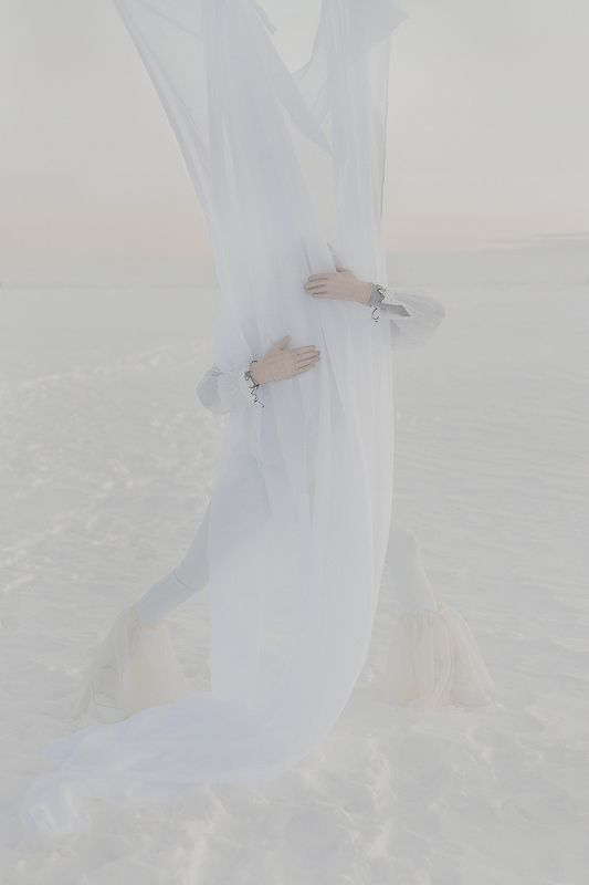 malevich, russian, white, snow, ice, soul, matter, esotericism, space, human, innamosina White on whitephoto preview