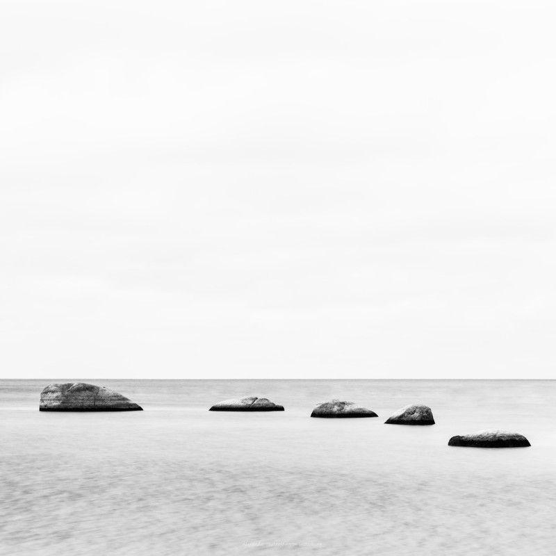 море, пейзаж, ч/б, монохром, минимализм, камни, seascape, sea, minimalism, monochrome, blackandwhite, ***photo preview