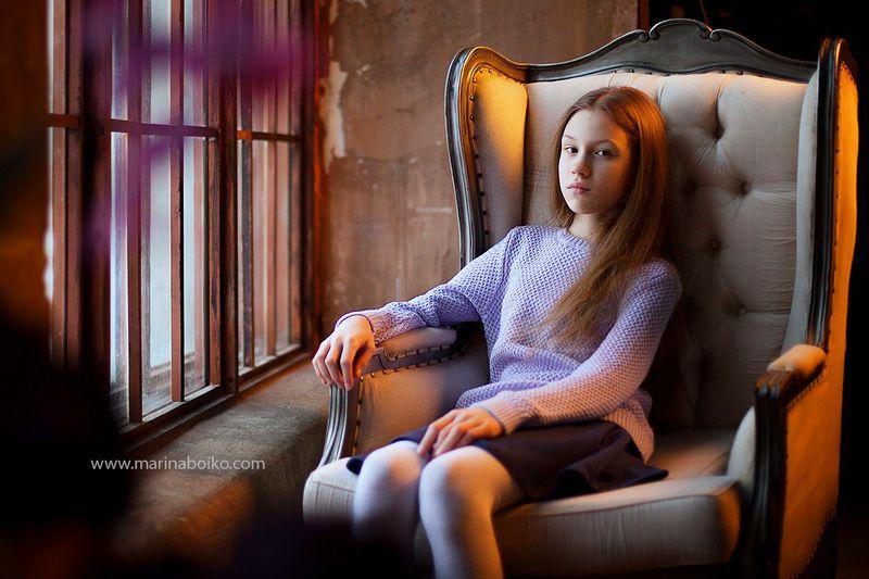 портрет, свет, контровой, девочка, классика, canon, girl, portrait Ликаphoto preview