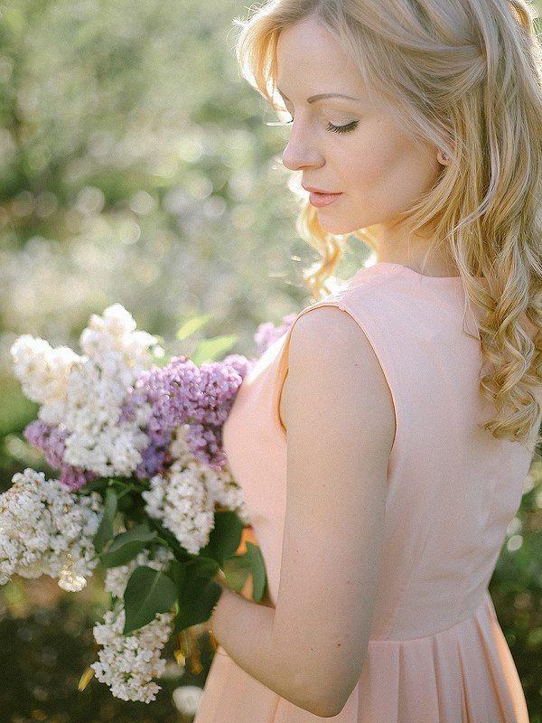 сирень. Lilac morningphoto preview