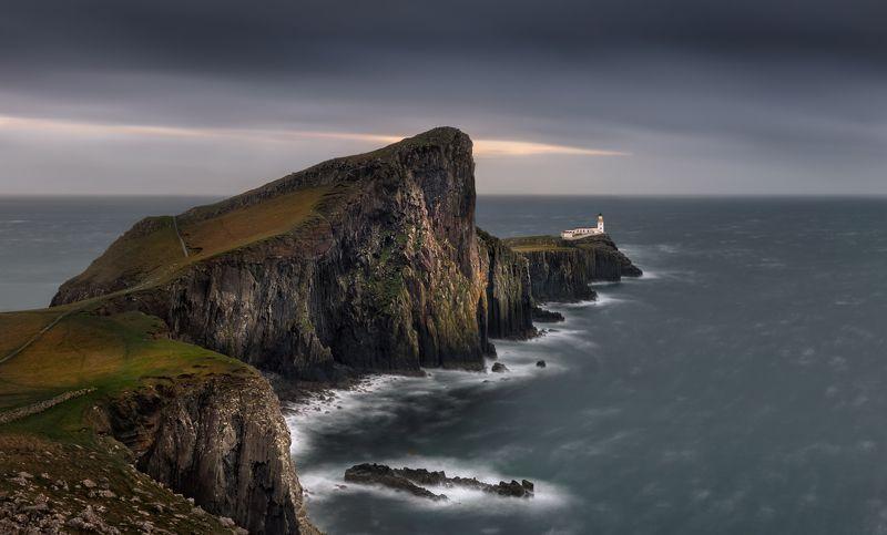 шотландия, scotland, скай, skye Маякphoto preview
