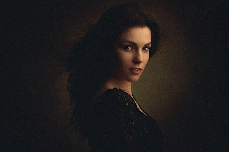 портрет, девушка, картина Викторияphoto preview