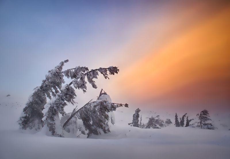 пейзаж, природа, урал, горы, снег, облака Самые стойкиеphoto preview