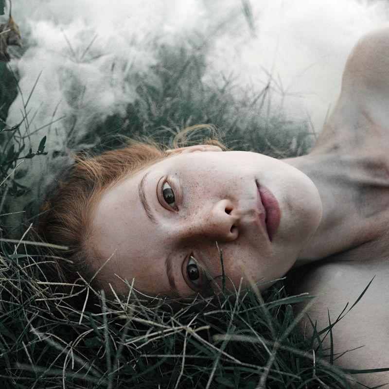 Портрет, женский портрет, девушка, взгляд, Россия  Она photo preview