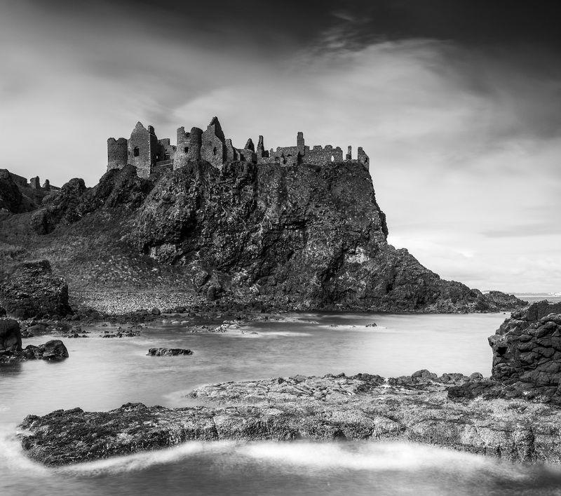 замок, ирланди,я пейзаж, океан, castle, ireland, landscape, ocean photo preview