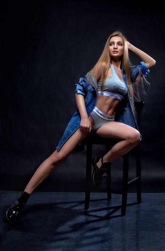 портрет, люди, фитнесс, девушка, фото Настяphoto preview