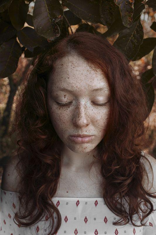 Портрет, женский портрет, девушка, взгляд, Россия  Настя photo preview