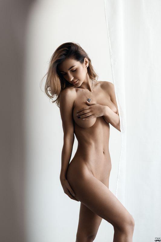 sensual, female, woman, femme, soft, color, portrait, people, nude, beauty Soft lightphoto preview