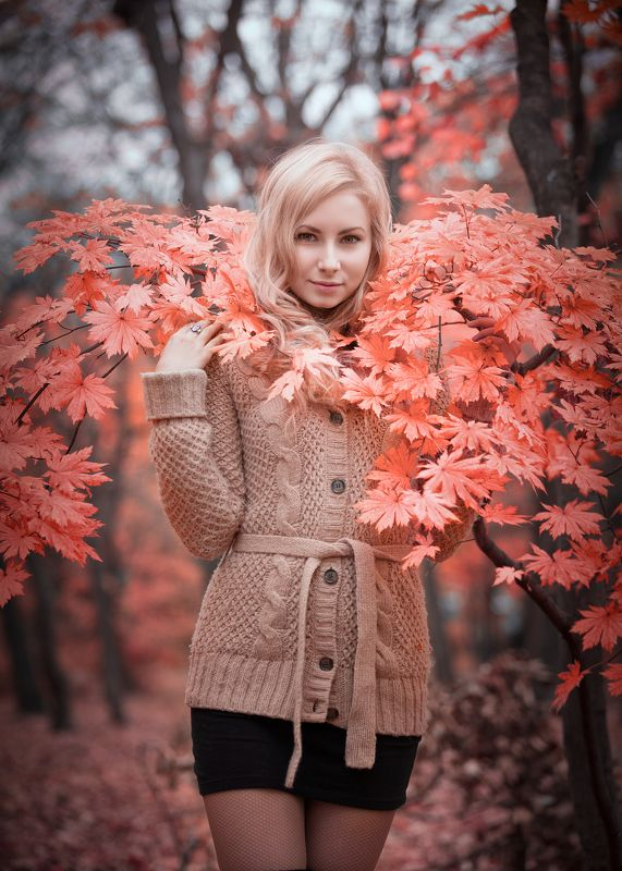 #красиво #осень #розовый #цвет Анастасияphoto preview