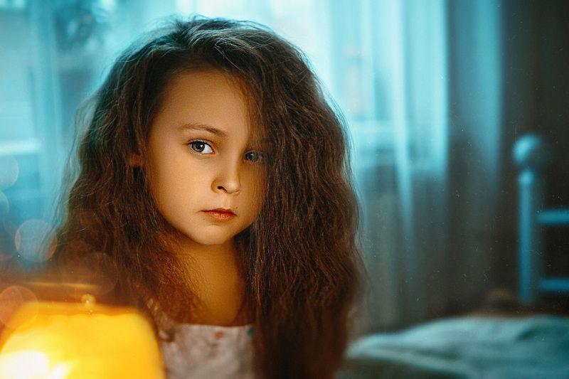 портрет, ребенок Соняphoto preview