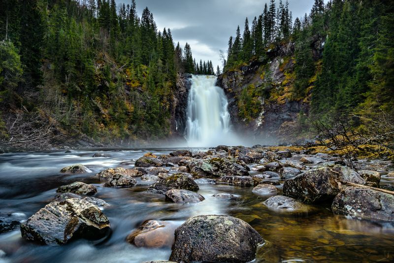 storfossen, waterfall, landscape, long exposure, water, norway, hommelvik Storfossen, Norwayphoto preview