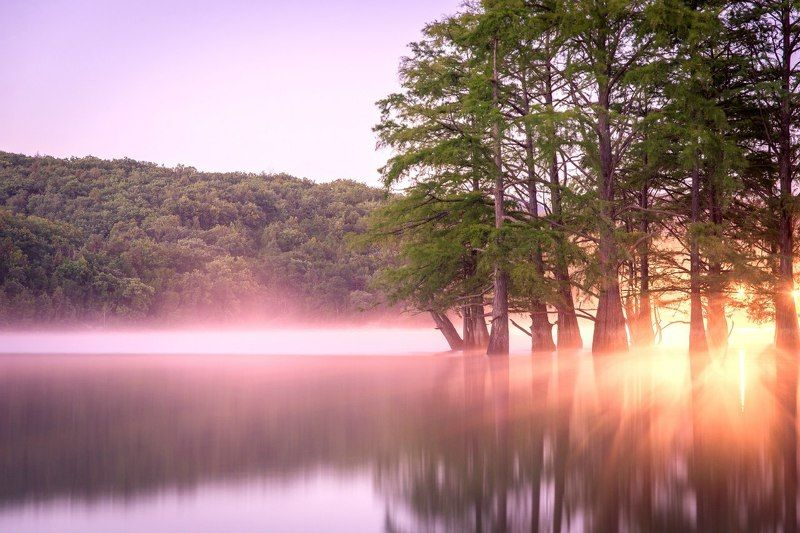 Рассвет на озере Суккоphoto preview