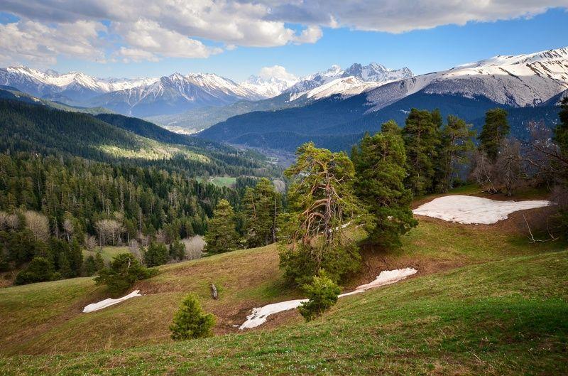 Архыз, весна, горы Весенний Архызphoto preview